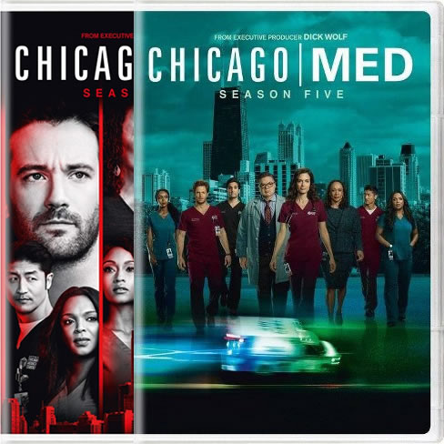 Chicago Med Complete Series 4-5 (12-Disc DVD)