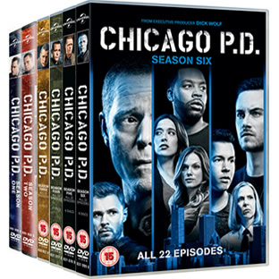 Chicago PD Complete Series 1-6 (34-Disc DVD)