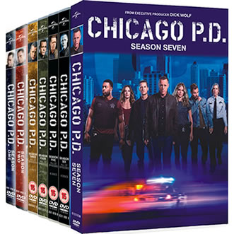 Chicago PD Complete Series 1-7 (39-Disc DVD)