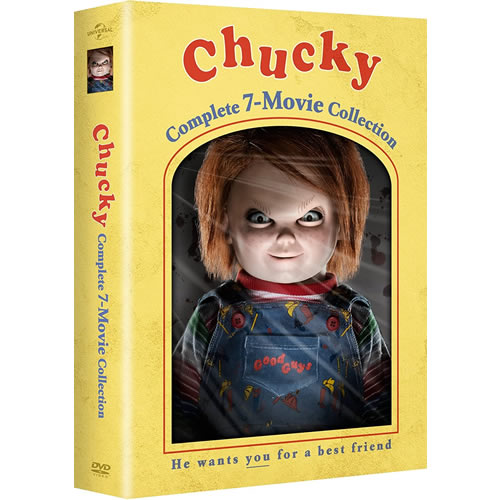 Chucky Complete 7-Movie Collection (7-Disc Box Set)