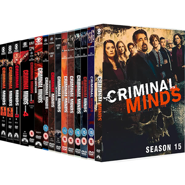 Criminal Minds Complete Series 1-15 (86-Disc DVD)