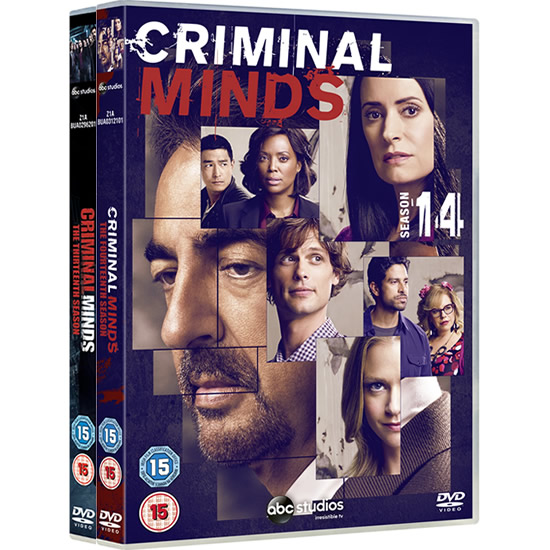 Criminal Minds Complete Series 13-14 (10-Disc DVD)
