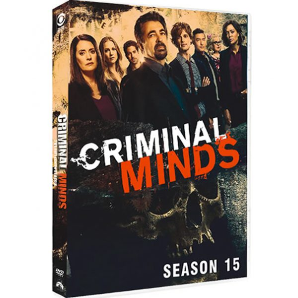 Criminal Minds - The Complete Season 15 (4-Disc DVD)
