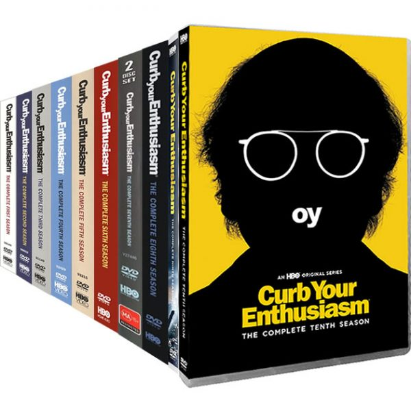 Curb Your Enthusiasm Complete Series 1-10 (20-Disc DVD)