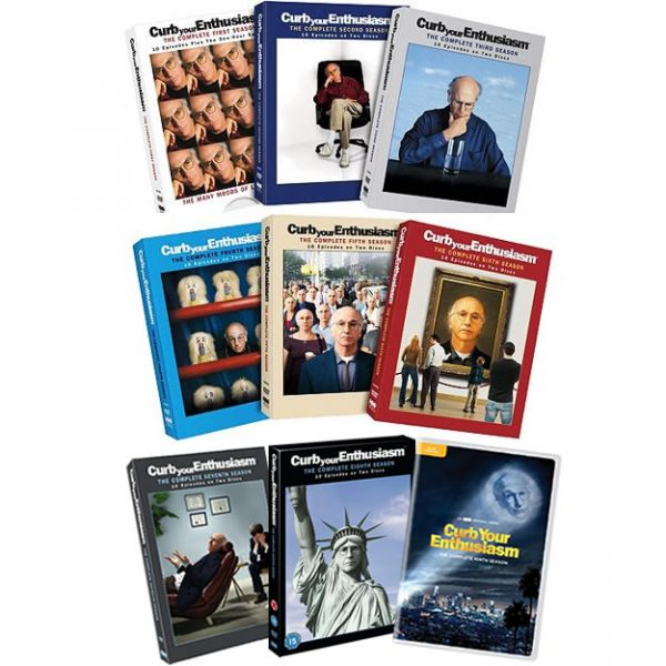 Curb Your Enthusiasm Complete Series 1-9 (18-Disc DVD)