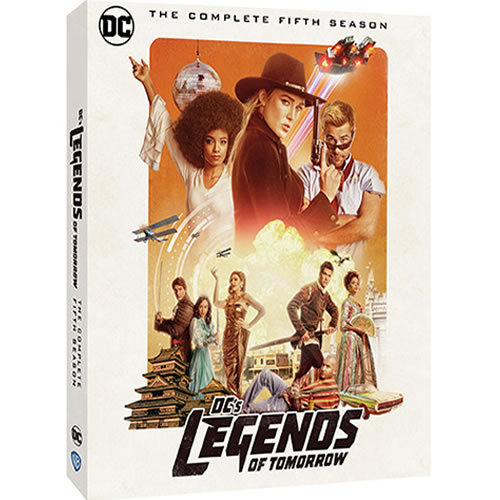 DC's Legends of Tomorrow - The Complete Season 5 (3-Disc DVD)