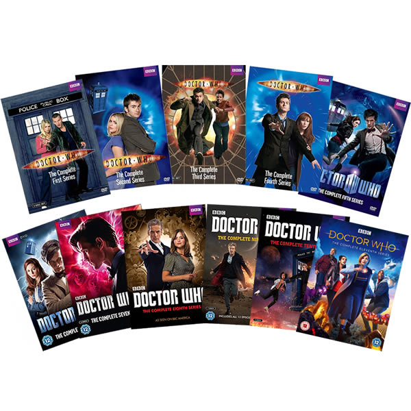 Doctor Who Complete Series 1-11 (58-Disc DVD)