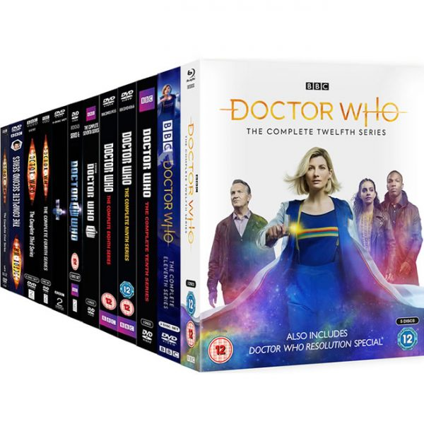 Doctor Who Complete Series 1-12 (62-Disc DVD)