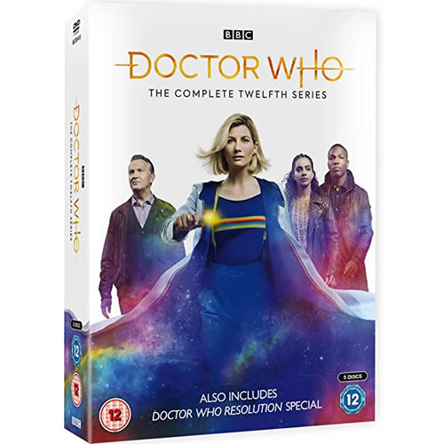 Doctor Who - The Complete Season 12 (4-Disc DVD)
