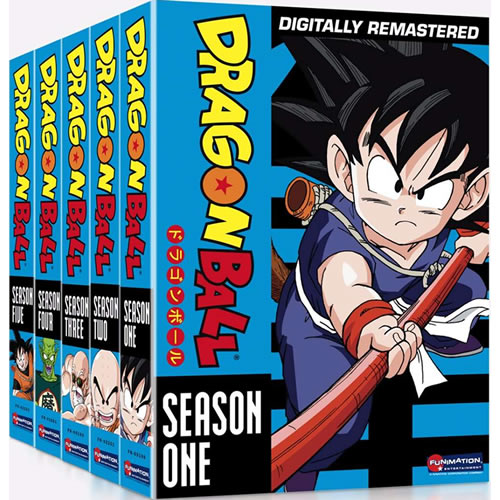 Dragon Ball Complete Series 1-5 (25-Disc DVD)