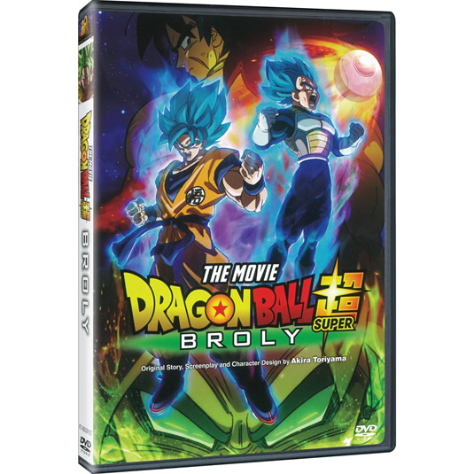 Dragon Ball Super: Broly (1-Disc DVD)