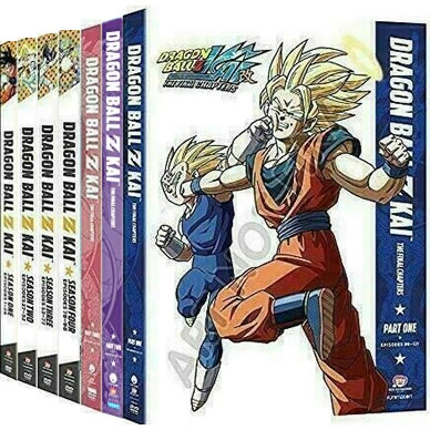 Dragon Ball Z Kai Complete Series 1-7 (28-Disc DVD)
