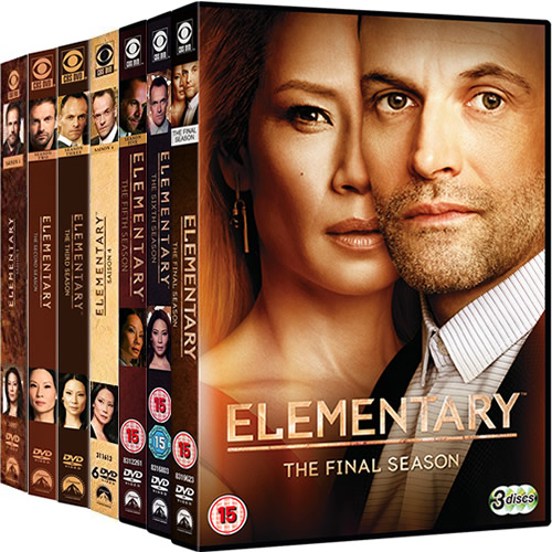 Elementary Complete Series 1-7 (39-Disc DVD)