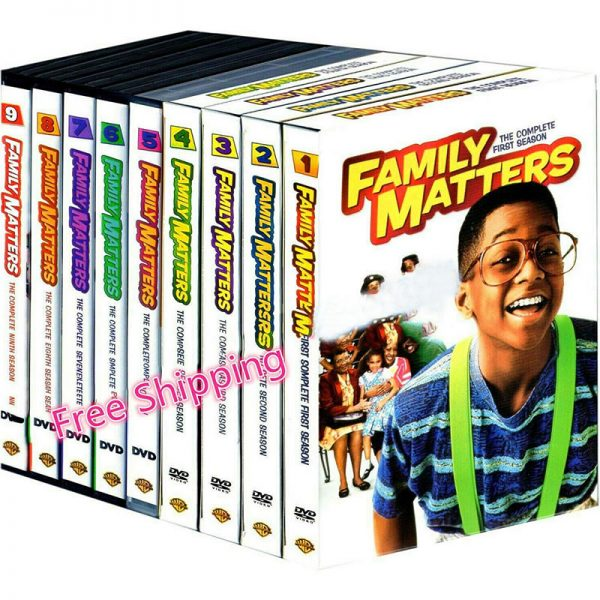 Family Matters Complete Series 1-9 (27-Disc DVD)