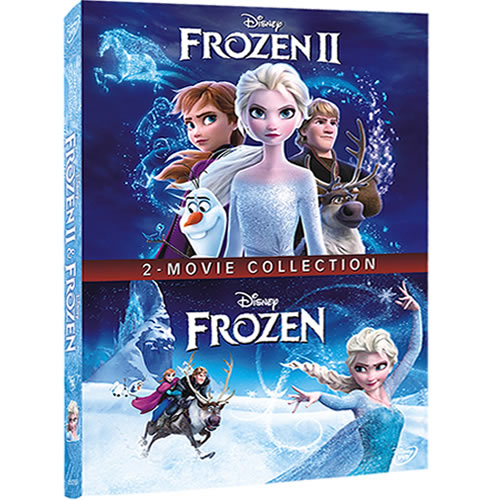 Frozen & Frozen II - 2 Movie Collection (2-Disc DVD)