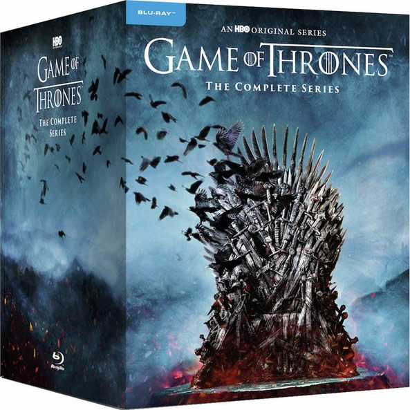 Game of Thrones Complete Series 1-8 Blu-ray Region Free (33-Disc Box Set)