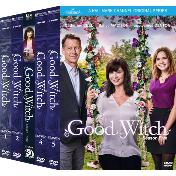 Good Witch Complete Series 1-5 (12-Disc DVD)