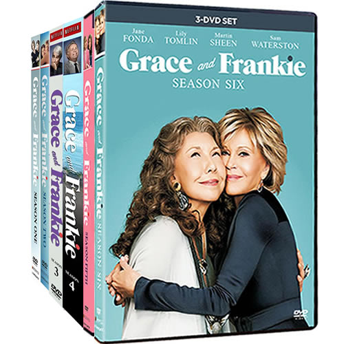 Grace And Frankie Complete Series 1-6 (19-Disc DVD)