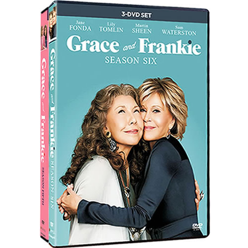 Grace And Frankie Complete Series 5-6 (7-Disc DVD)