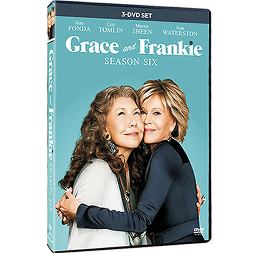 Grace and Frankie - The Complete Season 6 (3-Disc DVD)
