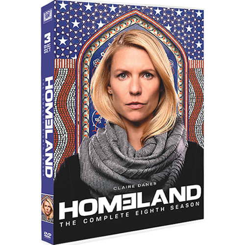Homeland - The Complete Season 8 (3-Disc DVD)