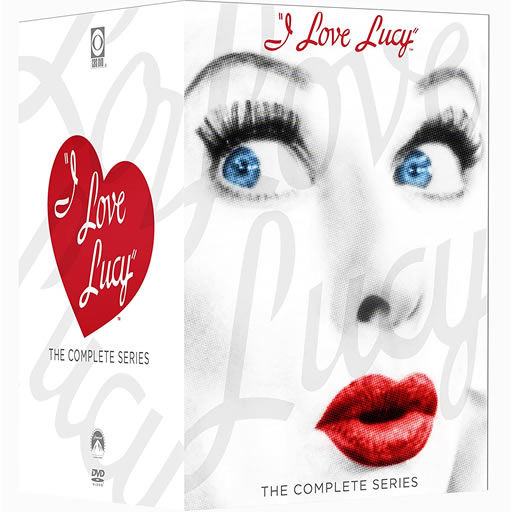 I Love Lucy Box Set (34-Disc DVD)