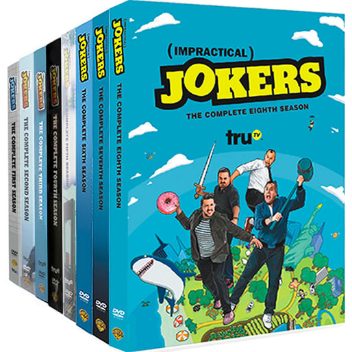 Impractical Jokers Complete Series 1-8 (24-Disc DVD)