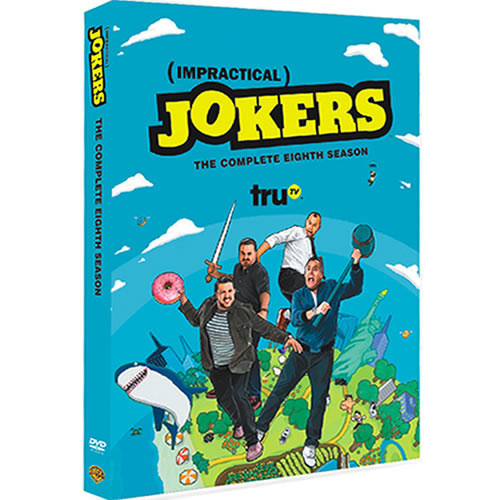 Impractical Jokers - The Complete Season 8 (4-Disc DVD)