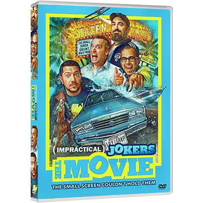 Impractical Jokers: The Movie DVD