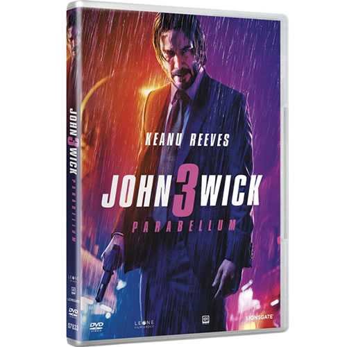 John Wick 1-3 Complete Collection DVD