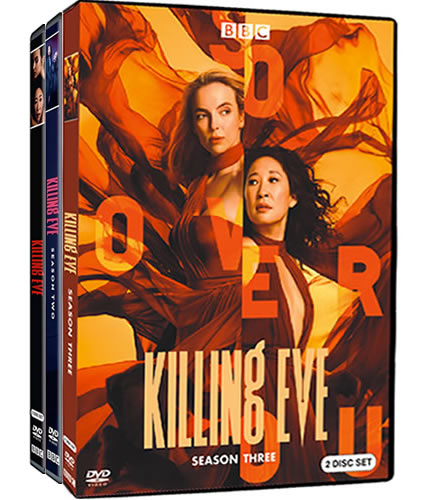Killing Eve Complete Series 1-3 (6-Disc DVD)