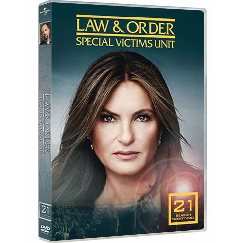 Law & Order: Special Victims Unit - The Complete Season 21 (4-Disc DVD)