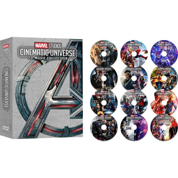 Marvel Studios Cinematic Universe 23-Movie Collection (12-Disc Box Set)