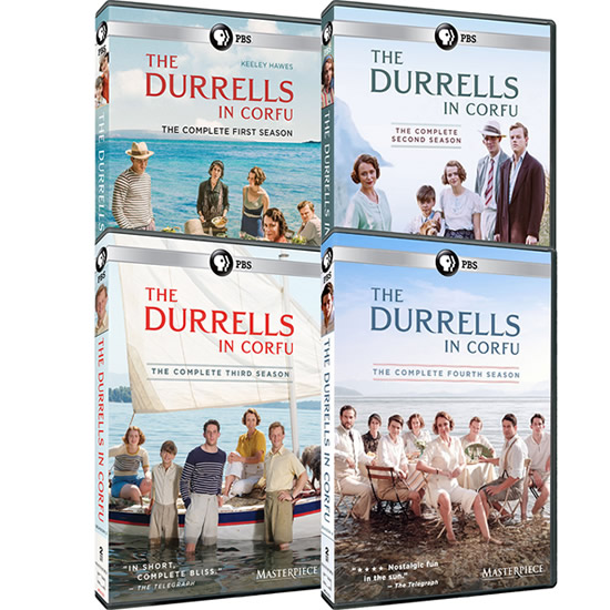 Masterpiece: The Durrells in Corfu Complete Series 1-4 (12-Disc DVD)