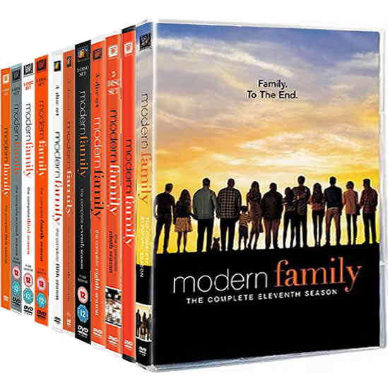 Modern Family Complete Series 1-11 (34-Disc DVD)