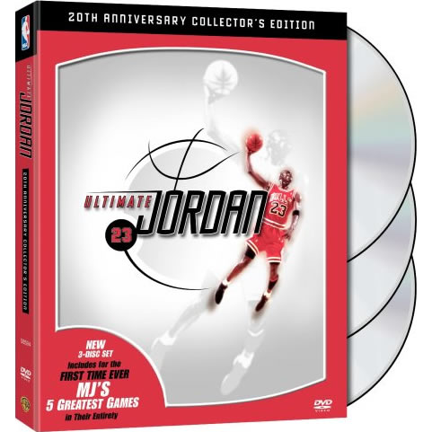 NBA: Ultimate Jordan 20th Anniversary Collector's Edition (3-Disc DVD)
