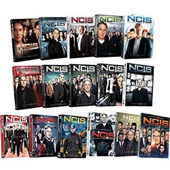 NCIS Complete Series 1-16 (95-Disc DVD)