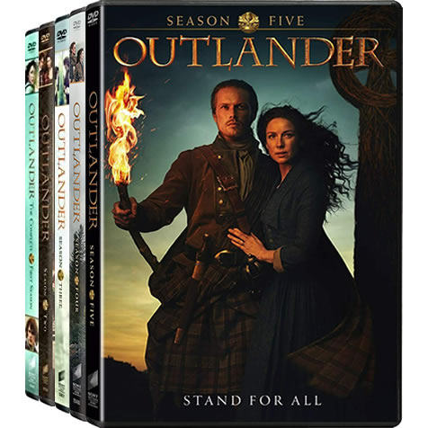 Outlander Complete Series 1-5 (23-Disc DVD)