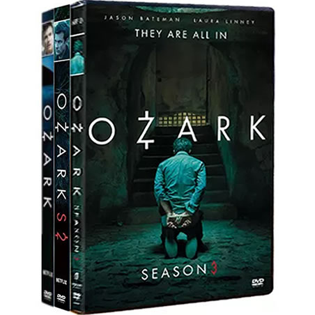 Ozark Complete Series 1-3 (9-Disc DVD)