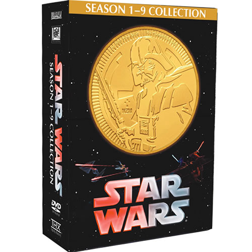 Star Wars Complete Series 1-9 (15-Disc DVD)