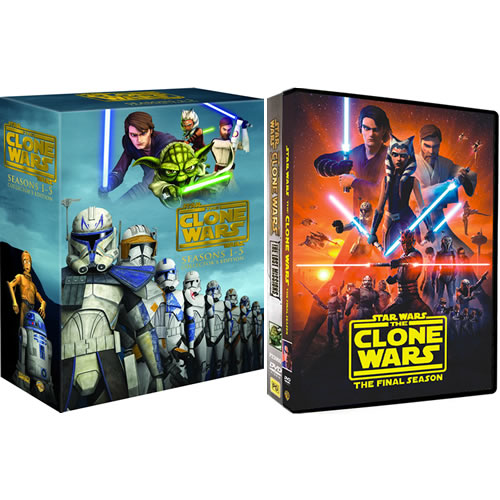 Star Wars: The Clone Wars Complete Series 1-7 (24-Disc DVD)