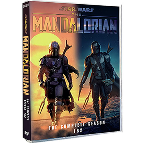 Star Wars: The Mandalorian Complete Series 1-2 (4-Disc DVD)