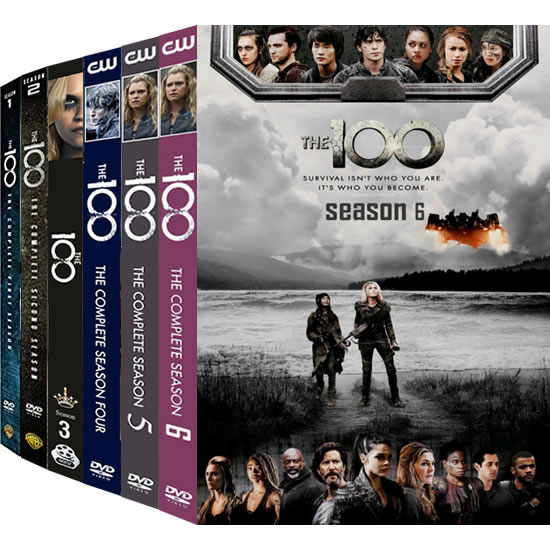 The 100 Complete Series 1-6 (20-Disc DVD)