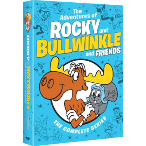 The Adventures of Rocky and Bullwinkle and Friends Complete Series DVD Box Set