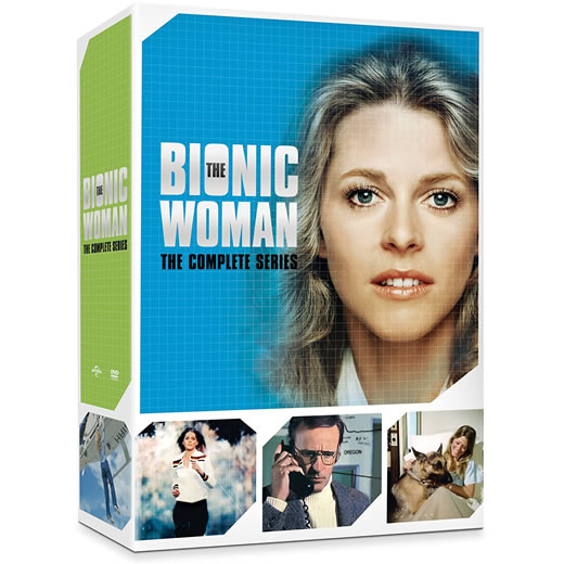 The Bionic Woman Complete Series DVD Box Set