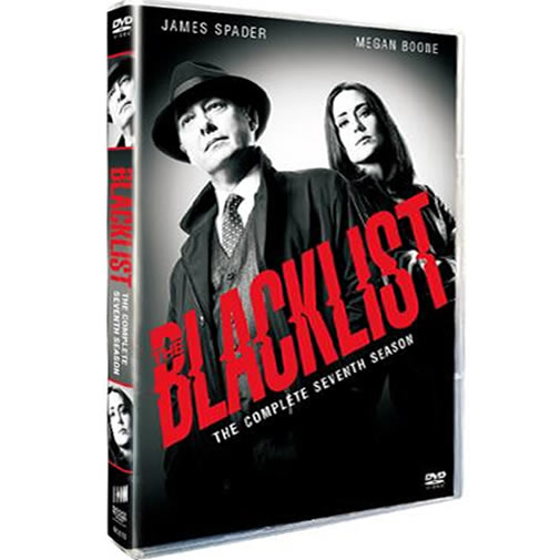 The Blacklist - The Complete Season 7 (4-Disc DVD)