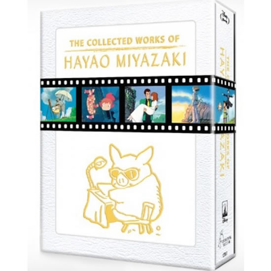 The Collected Works of Hayao Miyazaki Blu-Ray (12-Disc Box Set)