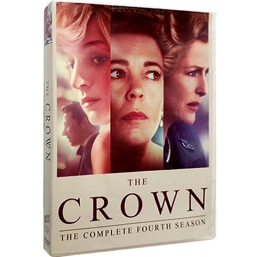 The Crown Season 4 DVD