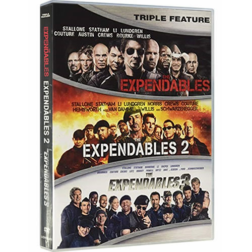The Expendables 1-3 (1-Disc DVD)