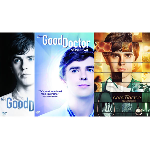 The Good Doctor Complete Series 1-3 (12-Disc DVD)